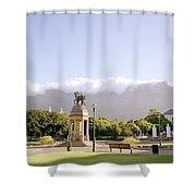 Company Gardens Shower Curtain