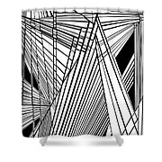 Compassion West Two Shower Curtain