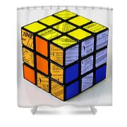 Complexity Of Income Tax Return Shower Curtain
