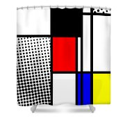 Composition 100 Shower Curtain