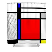 Composition 102 Shower Curtain