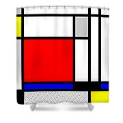Composition 104 Shower Curtain