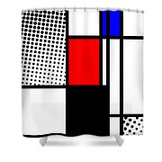 Composition 105 Shower Curtain