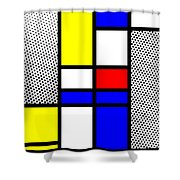 Composition 112 Shower Curtain