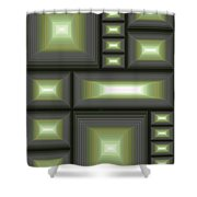 Composition 113 Shower Curtain
