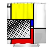 Composition 115 Shower Curtain