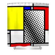 Composition 116 Shower Curtain