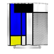 Composition 119 Shower Curtain