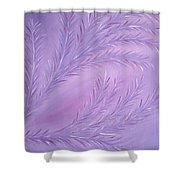 Composition 12 Shower Curtain