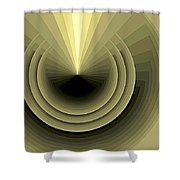 Composition 120 Shower Curtain