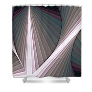 Composition 128 Shower Curtain