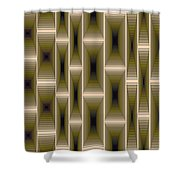 Composition 133 Shower Curtain