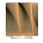 Composition 137 Shower Curtain