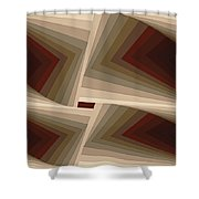 Composition 162 Shower Curtain