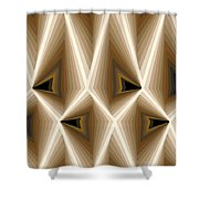 Composition 257 Shower Curtain