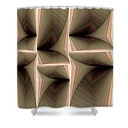 Composition 282 Shower Curtain