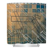 Composition 45 Shower Curtain