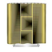 Composition 59 Shower Curtain