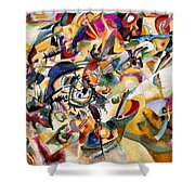 Composition Vii  Shower Curtain