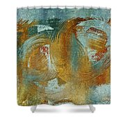 Composix 02a - V1t27b Shower Curtain by Variance Collections