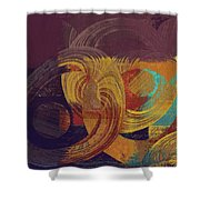 Composix - 164164100a2t1 Shower Curtain by Variance Collections