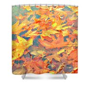 Computer Generated Image Of Autumn Shower Curtain