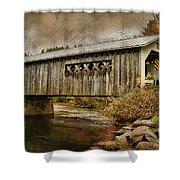Comstock Bridge 2012 Shower Curtain by Deborah Benoit