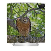 Concentration Shower Curtain