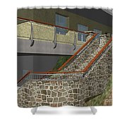 Concept Railing Shower Curtain