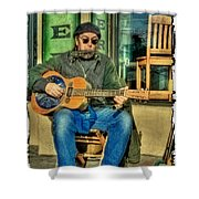 Concert At The Deli Shower Curtain