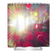 Concert Lights Shower Curtain