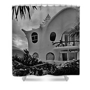 Conch Casa Shower Curtain