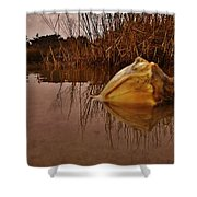Conch Hatteras Sound 2/10 Shower Curtain