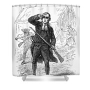 Concord: Minuteman, 1775 Shower Curtain by Granger
