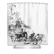 Concord: Minutemen, 1775 Shower Curtain
