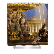 Concorde Fountain Shower Curtain