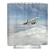 Concorde Legend Shower Curtain by J Biggadike