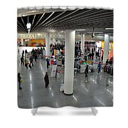 Concourse At People's Square Subway Station Shanghai China Shower Curtain