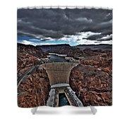 Concrete Canyon Shower Curtain