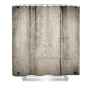 Concrete Wall Shower Curtain