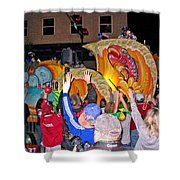 Conde Cavaliers Beer Thirty Shower Curtain