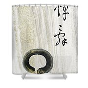 Condolences Tooji With Enso Zencircle Shower Curtain