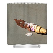 Cone Death  Shower Curtain