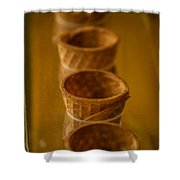 Cones On Display Shower Curtain