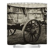 Conestoga Wagon Shower Curtain