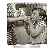 Coney Island, 1938 Shower Curtain
