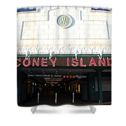 Coney Island Bmt Subway Station Shower Curtain