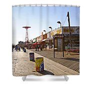 Coney Island Memories 8 Shower Curtain