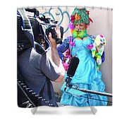 Coney Island Oddity Shower Curtain