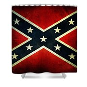 Confederate Flag 4 Shower Curtain
